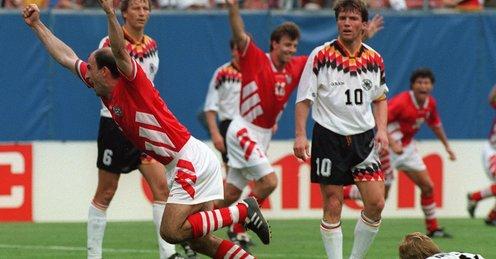 Изживейте го отново! ВЕЛИКАТА победа на България над Германия на САЩ 94!