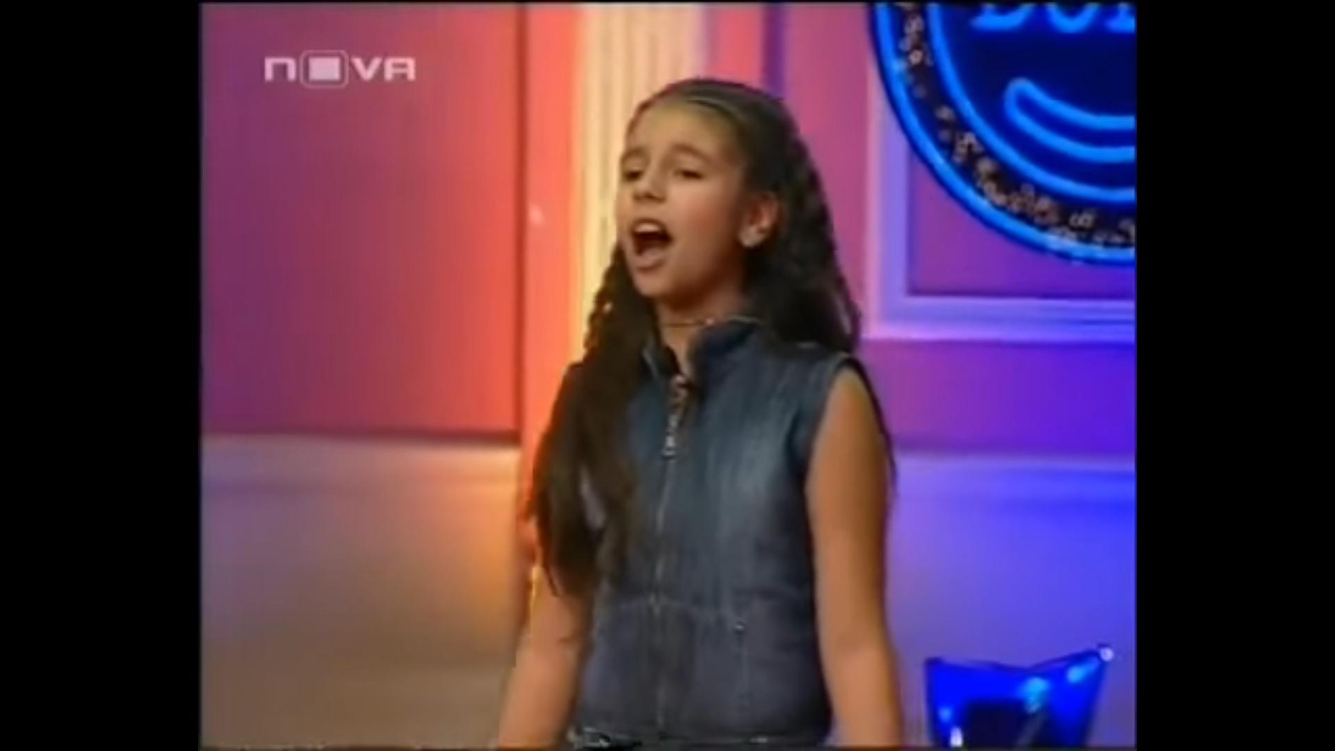 Вижте ПЪРВИЯ телевизионен кастинг на Дивна преди 9 години