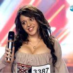 Уникална участничка в българския X FACTOR с много големи… очи