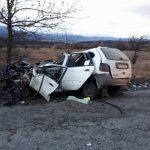 Тежка катастрофа с петима ранени затвори пътя Банско – Разлог (СНИМКИ)