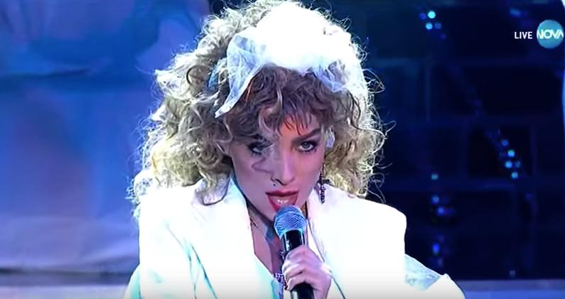 """Златка Райкова успя да ни впечатли като Мадона в """"Като две капки вода"""" (ВИДЕО)"""