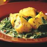Най-лесните задушени картофи на микровълнова фурна