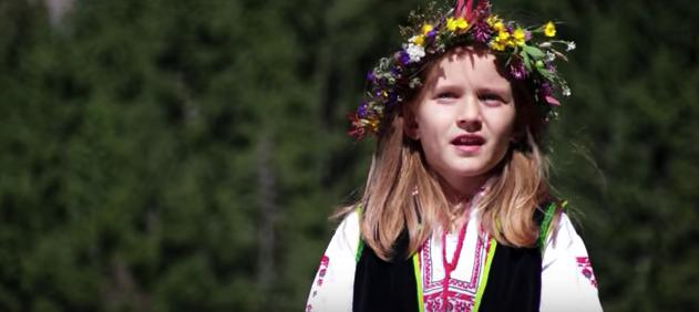 """""""Хубава си, моя горо"""" в изпълнение на прекрасно българско дете. Чуйте го и споделете българщината!"""