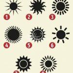 Тест: Слънцето, което изберете, ще подскаже важни неща за личността ви