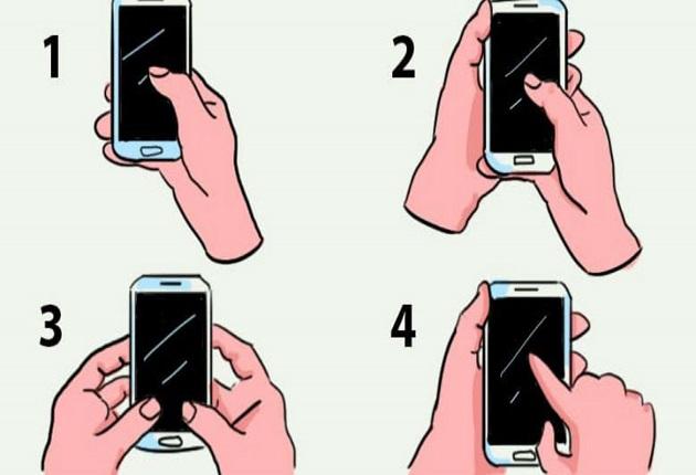 Как държите телефона си в момента? Това разкрива всичко за вас