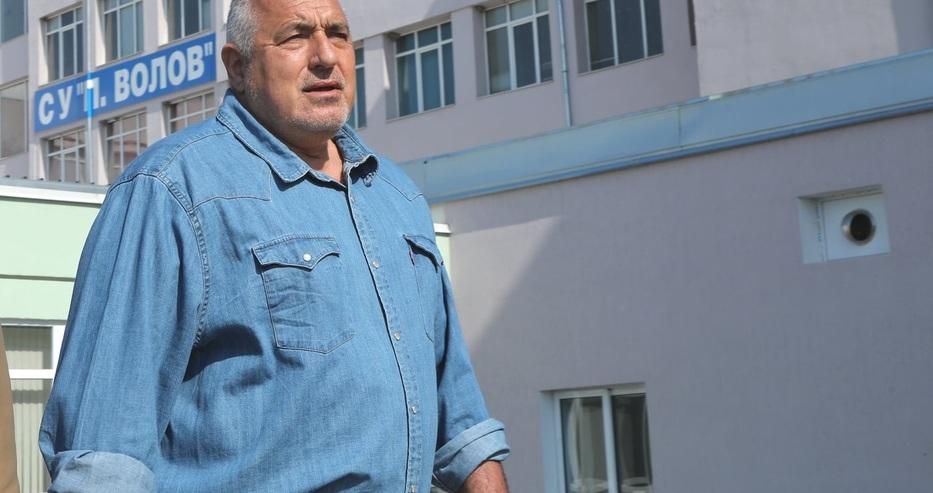 Борисов за опонентите си: Като гледам с кви шкембета са…